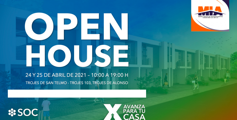 OPEN HOUSE Casas MIA